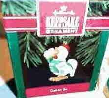 Hallmark Ornament ~ Dad-to-be 1992 ~ Rooster