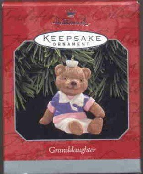 Hallmark Ornament ~ Granddaughter 1998