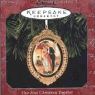 Hallmark Ornament ~ Our First Christmas Together 1998 ~ Hallmark Archives