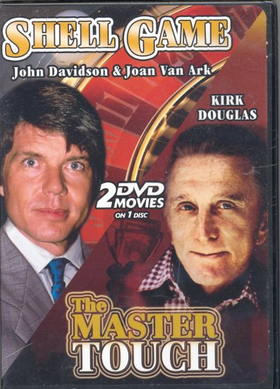 Shell Game ~ The Master Touch ~ DVD ~ Kirk Douglas & John Davidson