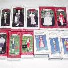 11 Hallmark Ornaments ~ Barbie Series 1994 - 2004