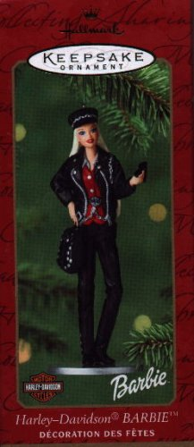 Hallmark Ornament ~ Harley - Davidson Barbie 2000