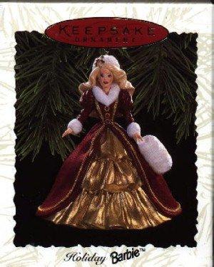 Hallmark Ornament ~ Holiday Barbie 1996 ~ Holiday Barbie series