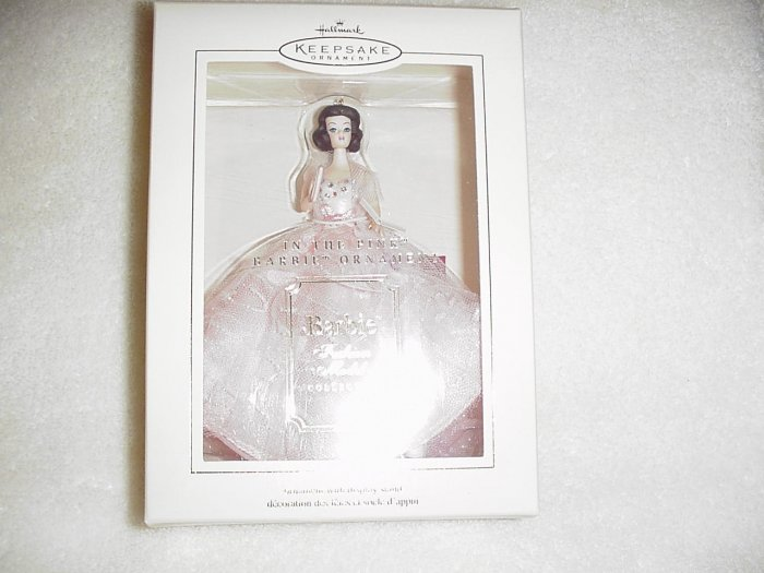 Hallmark Ornament ~ In the Pink Barbie 2003