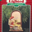 Hallmark Lighted Ornament ~ Christmas is Magic 1988