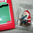 Hallmark Lighted Ornament ~ Circling the Globe 1988