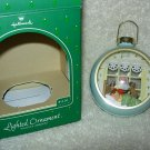 Hallmark Lighted Ornament ~ Santas Arrival 1984