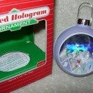 Hallmark Lighted Ornament ~ Santa's On His Way 1986