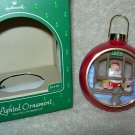 Hallmark Lighted Ornament ~ Santas Workshop 1984