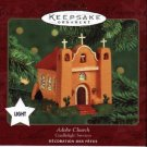 Hallmark Magic Ornament ~ Adobe Church 2000
