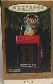 Hallmark Magic Ornament ~ Messages of Christmas 1993