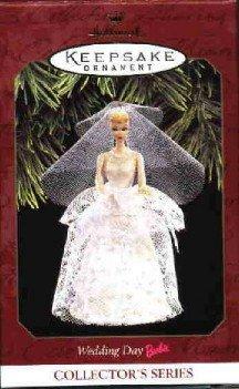 Hallmark Ornament ~ Wedding Day Barbie 1997 ~ Barbie series