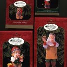4 Hallmark Ornaments ~ 1999 Membership