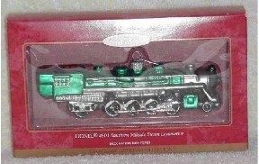 Hallmark Glass Ornament ~ Lionel 4501 Southern Mikado Steam Loco 2000