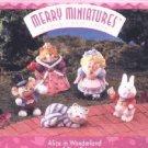 Hallmark Merry Miniatures ~ Alice In Wonderland 1996