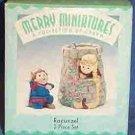 Hallmark Merry Miniatures ~ Rapunzel 1998