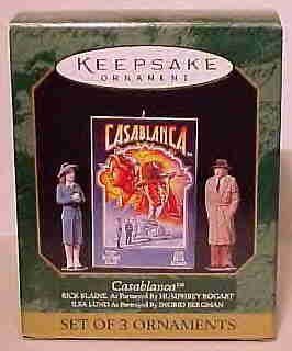 Hallmark Miniature Ornament ~ Casablanca 1997