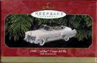Hallmark Ornament ~ 1949 Cadillac Coupe deVille 1999