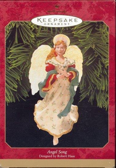 Hallmark Ornament ~ Angel Song 1999