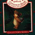 Hallmark Ornament ~ Cinnamon Bear 1986 ~ Porcelain Bear series