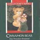 Hallmark Ornament ~ Cinnamon Bear 1989 ~ Porcelain Bear series
