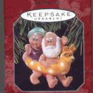 Hallmark Ornament ~ Clauses on Vacation 1998 ~ Clauses on Vacation series