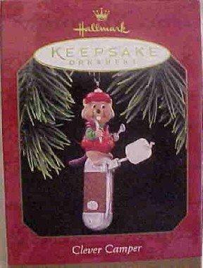 Hallmark Ornament ~ Clever Camper 1997