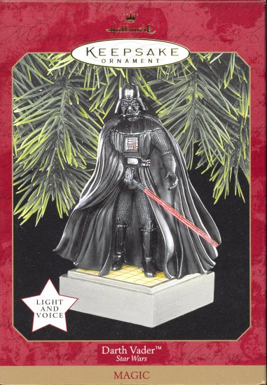 Hallmark Ornament ~ Darth Vader 1997 ~ Star Wars