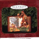 Hallmark Ornament ~ David and Goliath 1999 ~ Favorite Bible Stories series