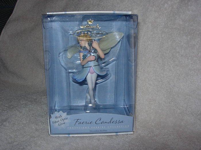 Hallmark Ornament ~ Frostlight Faerie Candessa 2001 ~ Frostlight Faeries series