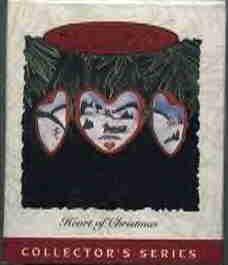 Hallmark Ornament ~ Heart of Christmas 1993 ~ Hearts of Christmas series
