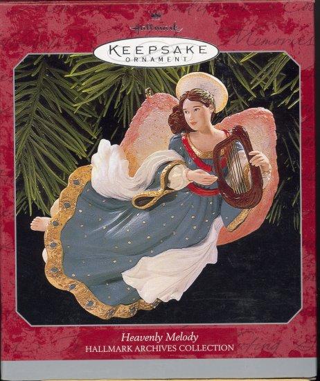 Hallmark Ornament ~ Heavenly Melody 1998