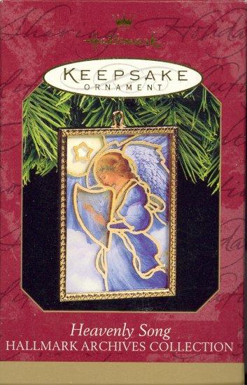 Hallmark Ornament ~ Heavenly Song 1997