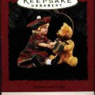 Hallmark Ornament ~ Lucinda and Teddy 1994