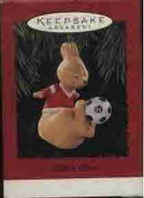 Hallmark Ornament ~ Kickin Roo 1994 ~ Soccer Kangaroo