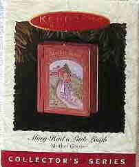 Hallmark Ornament ~ Mary Had a Little Lamb 1996 ~ Mother Goose series
