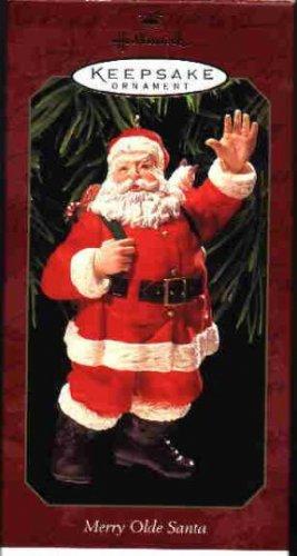Hallmark Ornament ~ Merry Olde Santa 1999 ~ Merry Olde Santa series