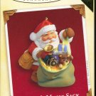 Hallmark Ornament ~ Santa's Magic Sack 2005