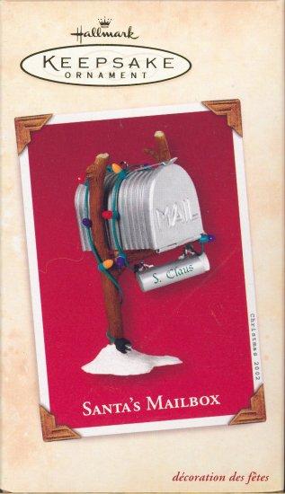 Hallmark Ornament ~ Santa's Mailbox 2002