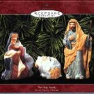 Hallmark Ornament ~ The Holy Family 1999 ~ set of 3