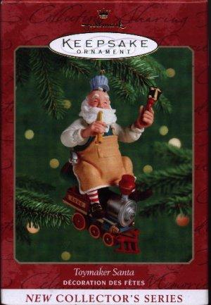 Hallmark Ornament ~ Toymaker Santa 2000 ~ Toymaker Santa series
