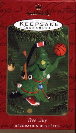 Hallmark Ornament ~ Tree Guy 2000 ~ Sports