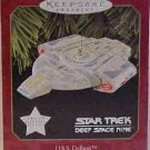 Hallmark Magic Ornament ~ Star Trek - Deep Space Nine - USS Defiant 1997