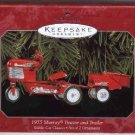 Hallmark Ornament ~ 1955 Murray Tractor & Trailer 1998 ~ Kiddie Car Classics series