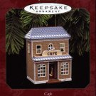 Hallmark Ornament Ornament ~ Cafe 1997 ~ Nostalgic Houses and Shops series