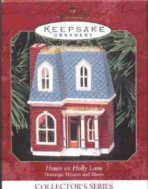 Hallmark Ornament ~ House on Holly Lane 1999 ~ Nostalgic Houses and Shops series