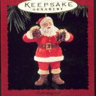 Hallmark Ornament ~ Refreshing gift 1995 ~ Santa and a Coke