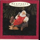 Hallmark Ornament ~ Relaxing Moment 1994 ~ Santa and a Coke
