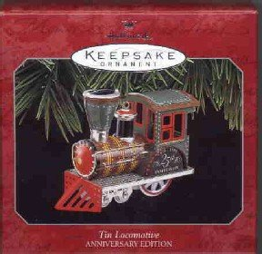 Hallmark Ornament ~ Tin Locomotive 1998 (Anniversary Edition) ~ Tin Locomotive series compliment