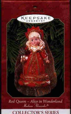 Hallmark Ornament ~ Red Queen - Alice in Wonderland 1999 ~ Madame Alexander series